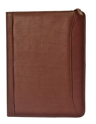 Oregon Canyon Leather Zip-Around Meeting Folder