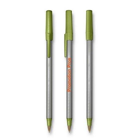 BIC Round Translucent Stick Pens - Metallic