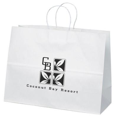 Vogue Paper Bag - White