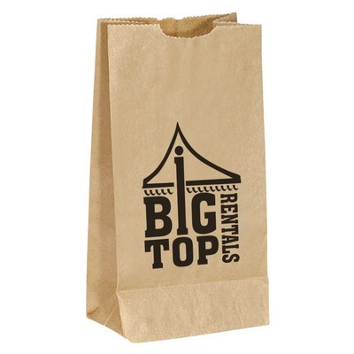 Popcorn Bag - Brown