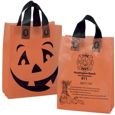Orange Frosted Pumpkin Halloween Bag