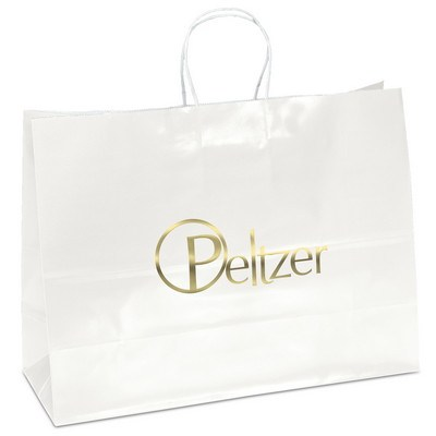 Aubrie Gift Bag - White