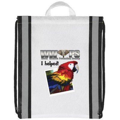Magellan Drawstring Bag - Four-Color Process