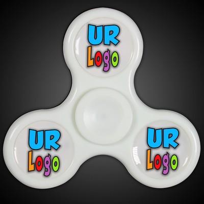 Lit Light Up Fidget Spinner (Full Color)