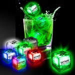 Picture of Imprinted Liquid Activated Light Up Ice Cubes
