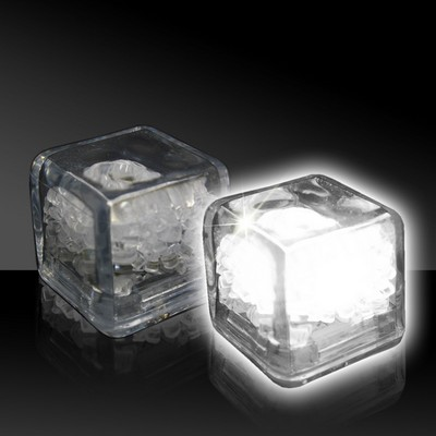 Imprinted Liquid Activated Light Up Ice Cubes