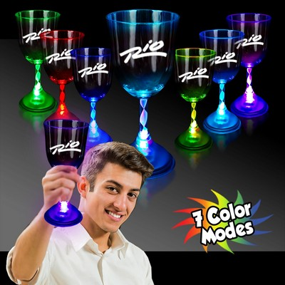 Light Up 10 Ounce Wine Glass