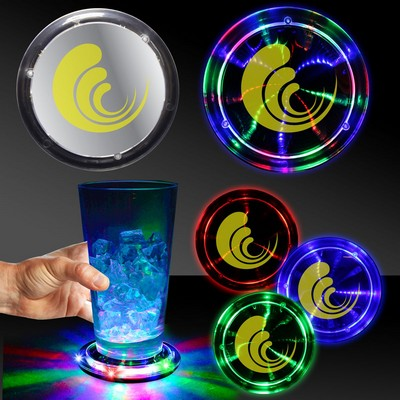 "3 3/4"" Infinity Fusion LED Coaster"