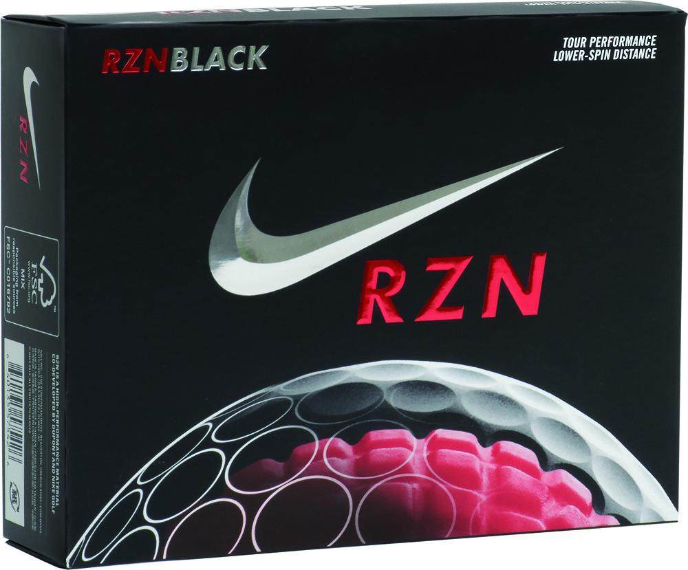danés canta esconder  Fully Custom Nike RZN Black Golf Ball Set - Promotion Pros