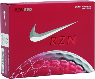 Nike RZN Red Golf Ball Set