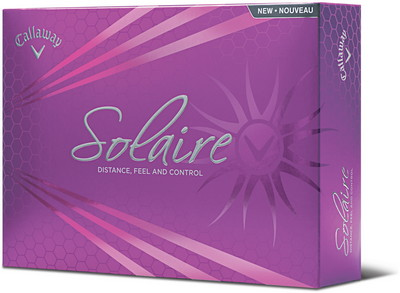 Callaway Solaire Golf Ball Set