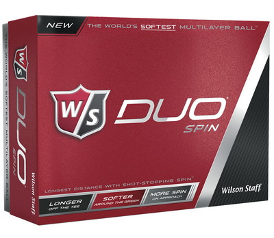Wilson Staff Duo Spin Golf Ball Set