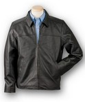 Picture of Burk's Bay Napa Driving Leather Jacket
