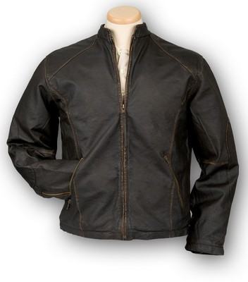Burk's Bay Men's Retro Leather Jacket