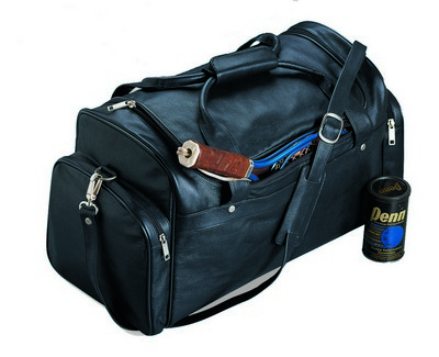 Burk's Bay Cowhide Leather Sport Bag