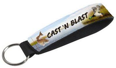 Best Key Chain Single Neoprene Wristband - Full Color