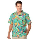 Picture of Adult Tucan Print Camp Shirts