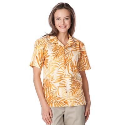 Adult Tonal Print Camp Shirts