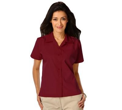 Ladies Poplin Camp Shirt