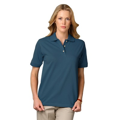 "Ladies' Short Sleeve ""Superblend"" Polo"