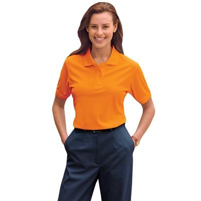 Ladies 100% Polyester Pique Polo- ANSI 107 Compliant