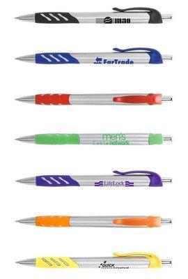 Promotional Joker Retractable Metallic Pen