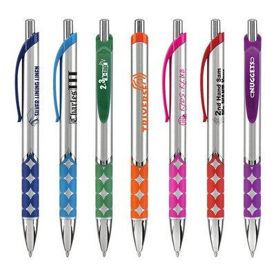 Promotional Logo Mirage Metallic Two Tone Pen