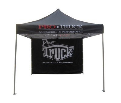 10' Custom Standard Tent - Full Back Wall