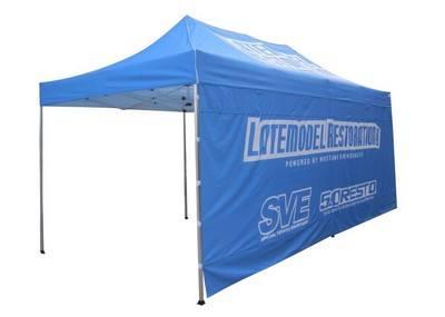 20' Custom Standard Tent - Full Back Wall