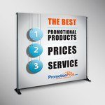 Picture of 8' Custom Retractable Backdrop Banner