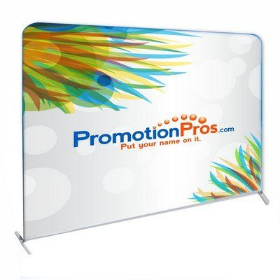 Straight Fabric Stand Popup Stand - Single Sided