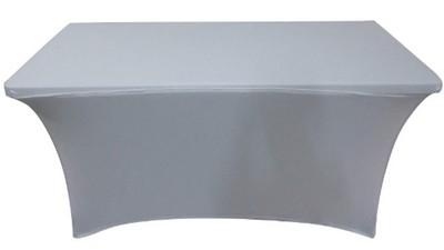 Custom Stretch Table Cover w/ Full Back