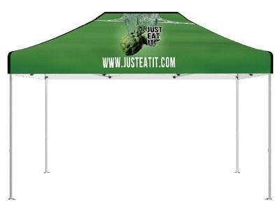 Delux 15' Custom Event Hex Tent