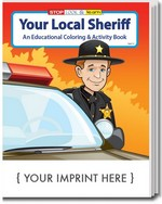 Picture of Coloring Book - Your Local Sheriff Coloring and Activity Book