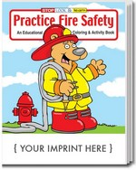 Picture of Coloring Book - Practice Fire Safety Coloring and Activity Book