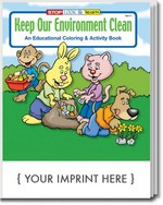Picture of Coloring Book - Keep Our Environment Clean Coloring and Activity Book