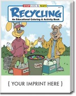 Picture of Coloring Book - Recycling Coloring and Activity Book