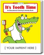Picture of Coloring Book - It's Tooth Time Coloring and Activity Book