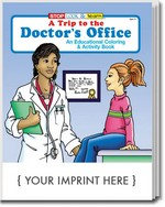 Picture of Coloring Book - A Trip to the Doctor's Office Coloring and Activity Book