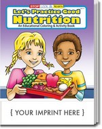 Picture of Coloring Book - Let's Practice Good Nutrition Coloring and Activity Book