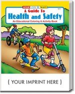Picture of Coloring Book - A Guide to Health and Safety Coloring and Activity Book