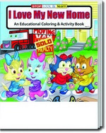 Picture of Coloring Book - I Love My New Home Coloring and Activity Book