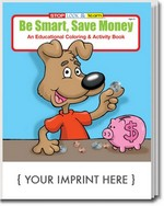 Picture of Coloring Book - Be Smart and Save Money Coloring and Activity Book