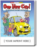 Picture of Coloring Book - Our New Car Coloring and Activity Book