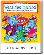 Picture of Coloring Book - We All Need Insurance Coloring and Activity Book