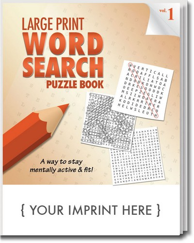 Puzzle Book - LARGE Print Word Search Puzzle Book