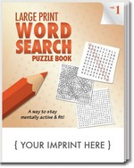 Picture of Puzzle Book - LARGE Print Word Search Puzzle Book