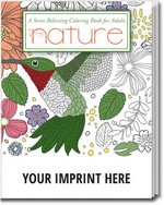 Picture of Nature - Stress Relieving Coloring Book for Adults
