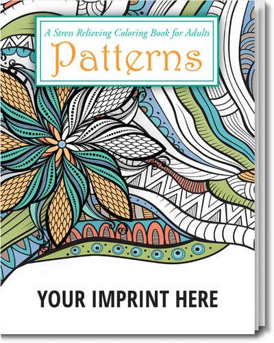 Patterns - Stress Relieving Coloring Book for Adults