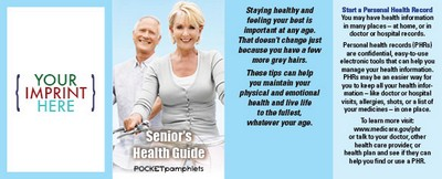 Pocket Pamphlet - Senior's Health Guide